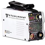 STAHLWERK ARC 200 MD IGBT - machine à souder DC MMA avec 200 ampères très compacte, garantie du fabricant de 7 ans