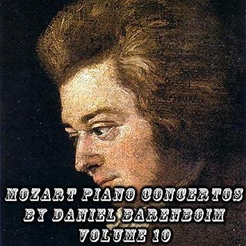 Mozart Piano Concertos by Daniel Barenboim Volume 10