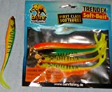 Double Split,Trendex Soft-Bait,5Stück,L:13cm,mit Fischaroma!5132