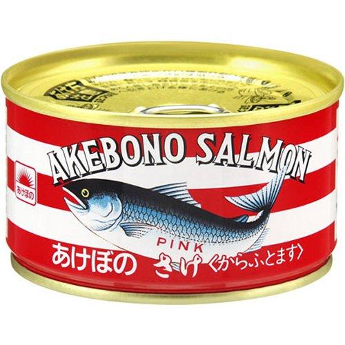 あけぼの 鮭水煮 EO缶180g