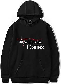 The Vampire Diaries Hoodies Casual Unisex Long Sleeve Pullovers Sweatshirts Harajuku Women/Mens Hooded Clothes