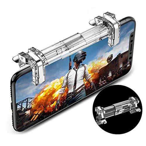 QUWN-Mobile Dispositivo De Juego, Juegos Móviles Disparadores De Teléfono Joystick Gamepad Titular del Teléfono, Teléfono Inteligente Tirador Controlador Sensible
