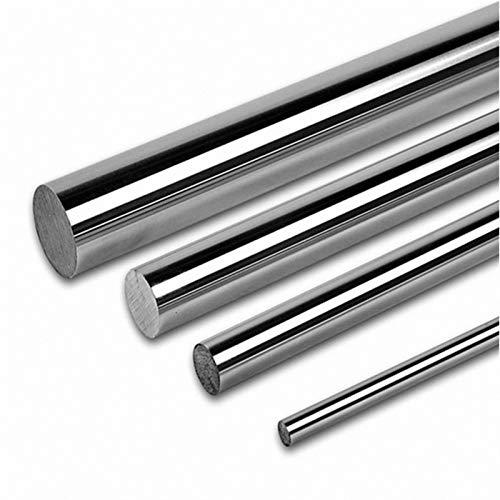 AGiao Componentes Eje óptico 200 mm 300 mm 400 mm 500 mm 600 mm 10 mm 12 mm Smooth Rods 16mm lineales del Eje del Carril impresoras 3D de Piezas Cromado guía de Deslizamiento Par Preciso y eficiente