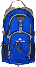 TETON Sports Oasis 1100 Hydration Pack; Free 2-Liter Hydration Bladder; For Backpacking, Hiking, Running, Cycling, and Climbing; Bright Blue , 18.5