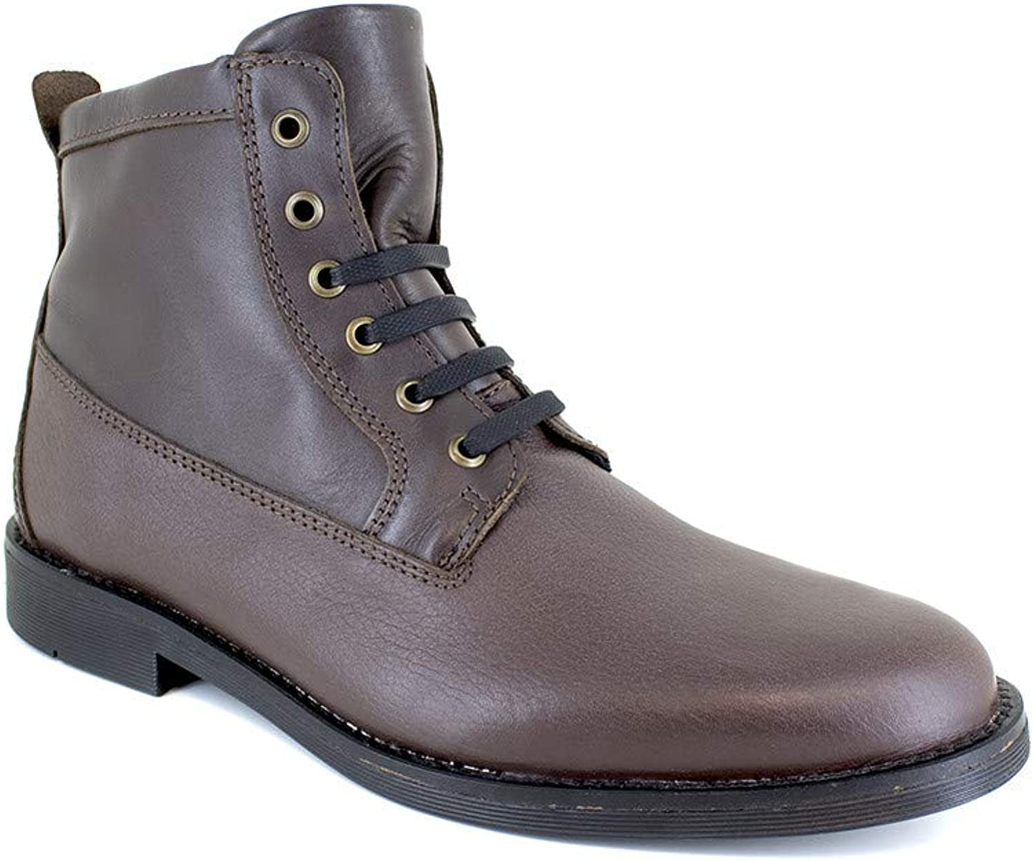 J.Bradford Low Boots Brown Leather JB-STRAWBER-111