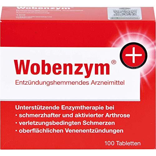 Wobenzym magensaftresistente Tabletten, 100 St. Tabletten
