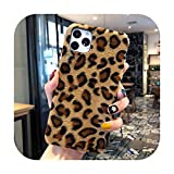 Phonecase - Carcasa para iPhone Xs 11 Pro Max X Xr para iPhone 7, 8, 6S, 6 Plus, diseño de leopardo, estilo retro, para Iphone11 Promax