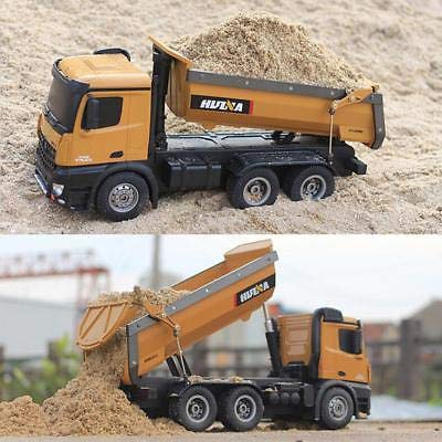 RC Baufahrzeug kaufen Baufahrzeug Bild 1: s-idee® S1573 Rc Dump Truck 1:14 LKW 10 Kanal Kipplader Huina 1573*