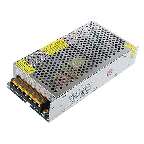 LIPENLI 12V 10A Fuente de alimentación conmutada Transformador Regulado w Cortocircuito/y Sobrecorriente