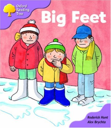 Oxford Reading Tree: Stage 1+: First Sentences: Big Feetの詳細を見る