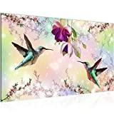 Bild Blumen Vogel Modern Wandbilder - 100% Made In Germany