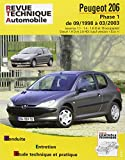 E.T.A.I - Revue Technique Automobile 103 - PEUGEOT 206 - 1998 à 2009