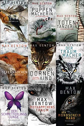 Max Bentow 9 Bände im Set + 1 exklusives Postkartenset
