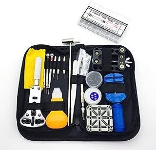 EMEBAY - Tool Kits 380 IN 1 Watch Repair Tool Kit Watchmaker Back Case Opener Remover Spring Pin Bars 380pcs Tool Kit