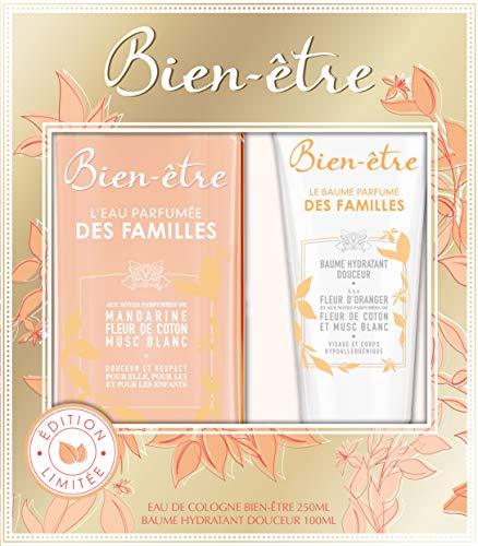 Bien-être Coffret l'Eau Parfumée des Familles Eau de Cologne Spray 75 ml + Baume Hydradant 100 ml