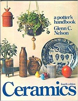 Hardcover Ceramic Potters Handbook Book