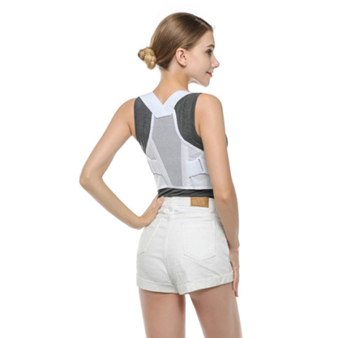 厚さ書店不良品姿勢矯正器 - 上下の腰部サポートを提供する、男性と女性のための最高の姿勢矯正器 - 腰椎サポートには姿勢サポートが付属しています,XL
