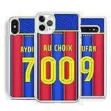 IDcaseFR Coque Silicone Bumper Souple Huawei Psmart 2019 -Football Barcelone Barca 2020 Nouveau...