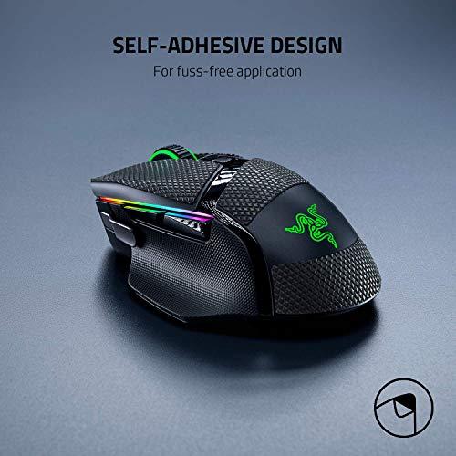 Razer Mouse Grip Tape für Razer Basilisk Ultimate, Basilisk X HyperSpeed + Basilisk V2 (Rutschfest, Selbstklebend, Vorgeschnitten)