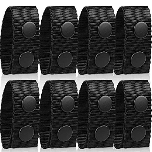 Vanmor Duty Belt Keeper with Double Snaps for Outdoor Sports Belt Fixing Wide Belt Security Tactical Belt Police Military Equipment Accessories