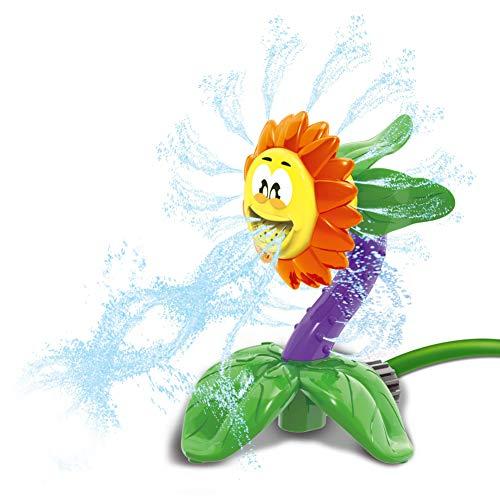 JOYIN Kids Sprinkler Water Spray Toy for Lawn Sprinkler Splash Sunflower for Yard Kids Outdoor Water Fun