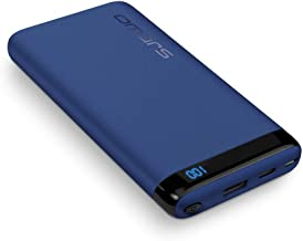 Omars USB C Power Bank, PD Portable Charger Power Delivery QC Quick Charge 3.0 USB Type-C Output Compatible with iPhone X/8/8 Plus, Galaxy S8/S7, Nintendo Switch and More (Blue 6000aMh)