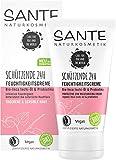 SANTE Naturkosmetik Schützende 24H Feuchtigkeitscreme Bio-Inca Inchi-Öl & Probiotika, Gesichtspflege für empfindliche Haut, Spendet natürlich Feuchtigkeit, Vegan, 50ml