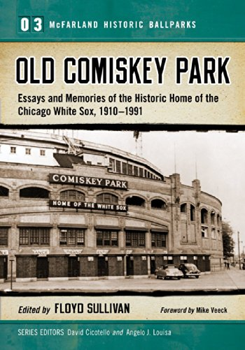 Old Comiskey Park White Sox history book