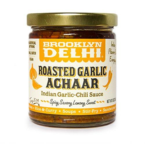 Brooklyn Delhi Roasted Garlic Achaar Roasted Garlic Chili Sauce, 9 Oz