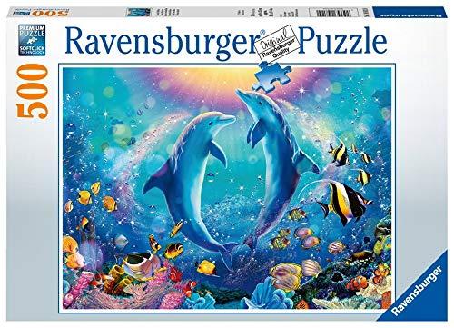 Ravensburger Puzzle 14811 - Tanz der Delphine - 500 Teile