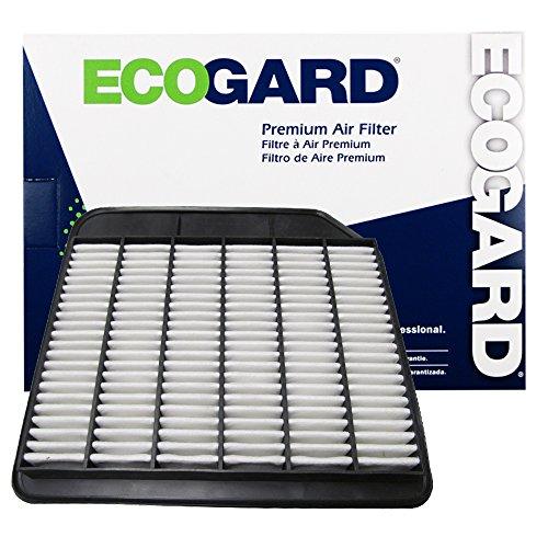 ECOGARD XA10253 Premium Engine Air Filter Fits Infiniti QX80 5.6L 2014-2020, QX56 5.6L 2011-2013 | Nissan Armada 5.6L 2017-2020