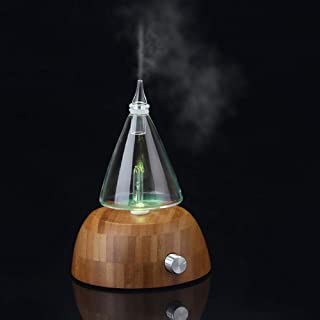 ZYG000 Air Humidifier Glass Water Tank Atomization Pure Essential Oil Aroma Diffuser Led Lamp Aroma Humidifier Household