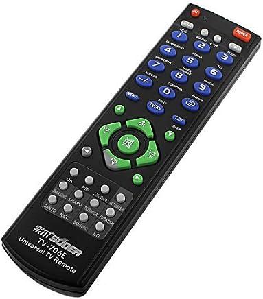 eDealMax Mando a distancia Reemplazo Compatible inteligente Universal Para TV