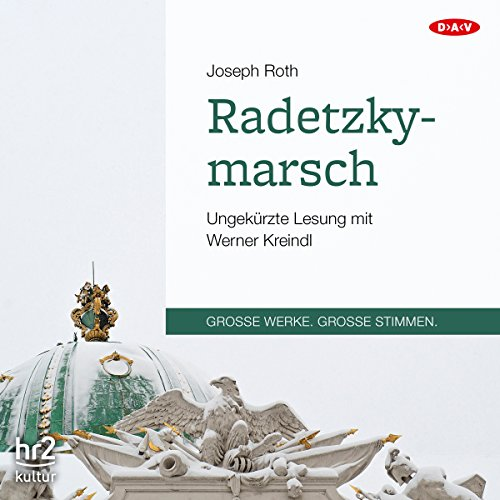 Radetzkymarsch audiobook cover art