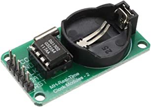 uxcell DS1302 Clock Module Real-Time Clock Module RTC for Arduino AVR ARM