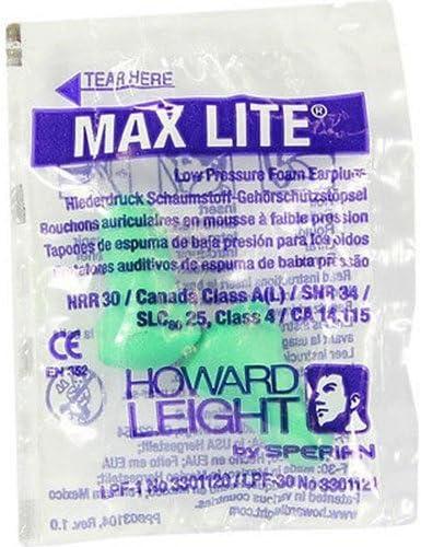 Tapones para los o/ídos envueltos individualmente Honeywell Howard Leight Max Lite SNR 34 dB