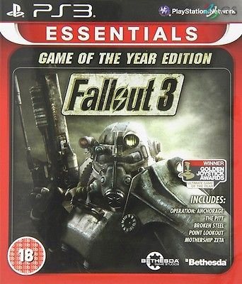 Fallout 3 Game Of The Year Edition (Essentials) (PS3) (UK) [PlayStation 3] [UK IMPORT]