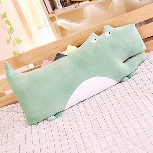 feimeifen Crocodile Pillow Plush Toy Cushion Birthday Gift Girl 100 cm green