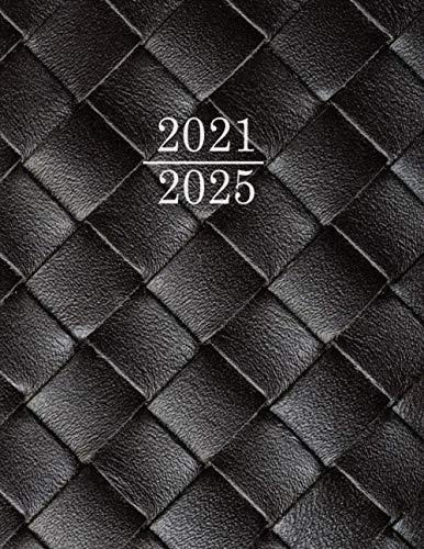 Kalender 2021 2025 A4, Monatsplaner Terminkalender 2021-2025, Terminplaner Planer mit Monatlichen Tabs , Kalender A4 - terminplaner für bis 60 Monate+ ... Seiten - 160 Seiten, 21,5 x 27,5 - (Schwarz)