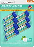 Member's Mark Nicotine Lozenge 4mg 189 ct Mint / Previously Simply Right by Members Mark