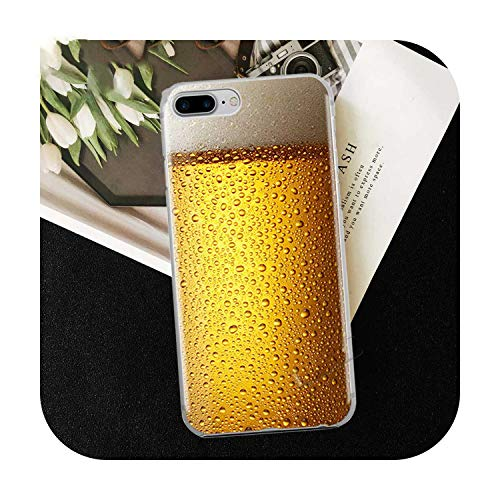 Who-Care Funny Food Dessert Chocolate Beer Phone Case For Iphone 11 Pro Xr 6 6S 7 8 Plus 4S 5S Se Xs Max Cookies Fries Tpu Silicone Case-Tpu D163-For Iphone Xs Max
