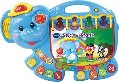 VTech 80–158004 ABC éléphant, Enfants et école Maternelle
