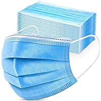 50 Pack 3 Layer Anti-Dust Earloops Protective Cover Masks