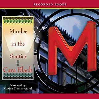Murder in the Sentier audiobook cover art