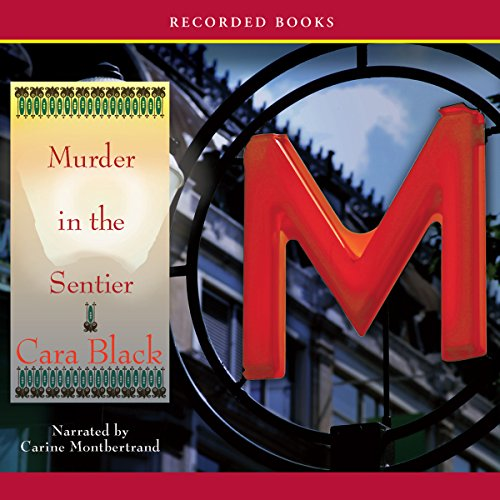 Murder in the Sentier audiobook cover art
