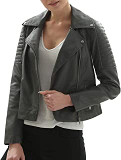 e3f21be8f Greys Women's Leather Jackets | Amazon.com