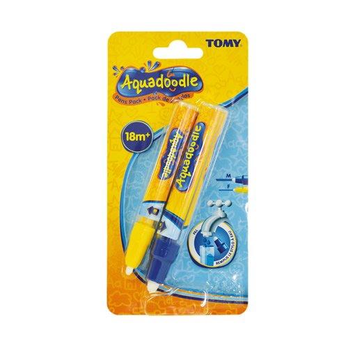 AquaDoodle Wasserfarben 14779,feines und breites Pinsel-Set