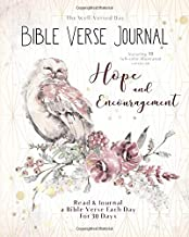 Bible Verse Journal - Hope and Encouragement: Read and Journal a Bible Verse Each Day for 30 Days (The Well Versed Day - Bible Verse Journals)