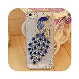 Xahoc for iPhone 11 Pro Max for iPhone X XS Max XR 8 Plus 7 Plus Case、Luxury Rhinestone Diamond Case for iPhone 5 5S 6 6S Plus Case-4-for iPhone 11