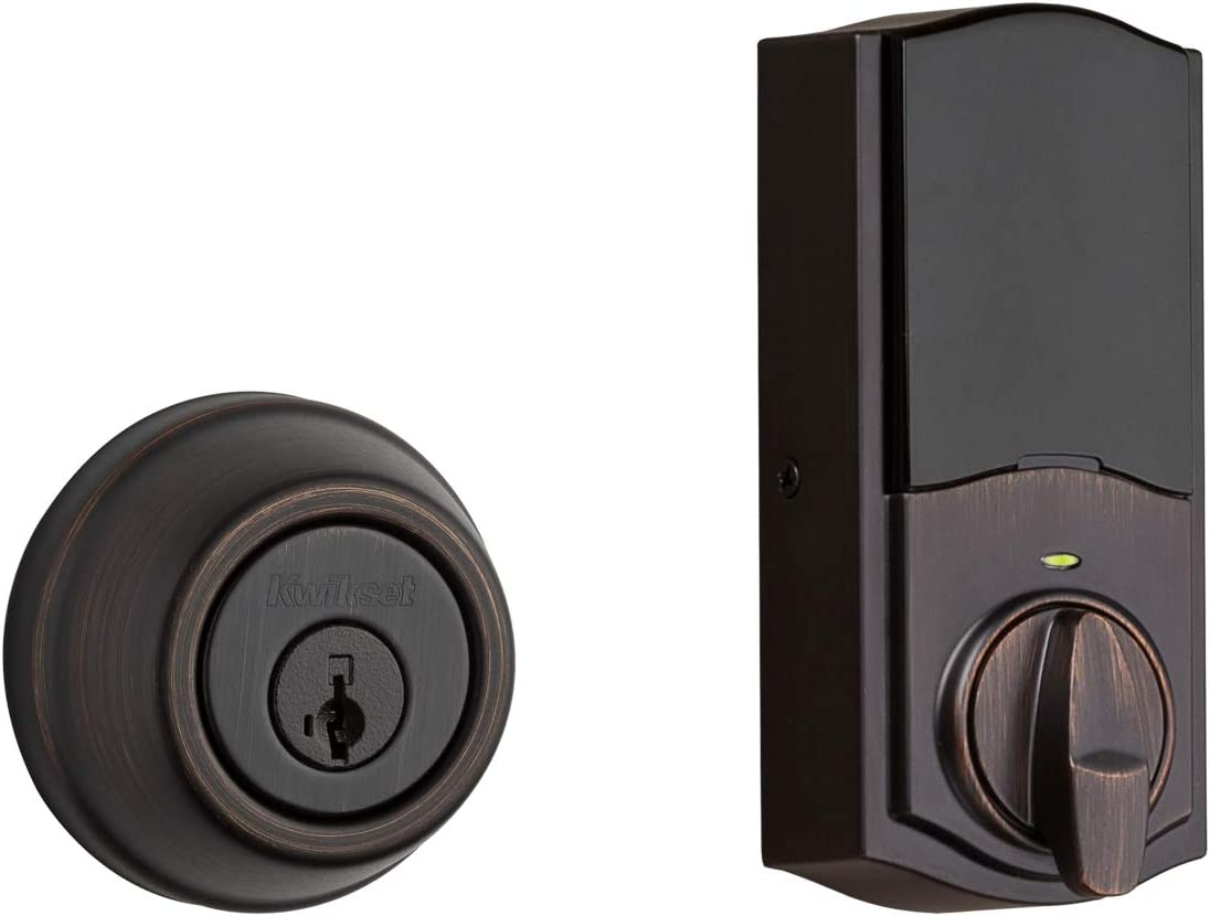 Kwikset 99140-131 Signature Series 2nd Gen Lock Round Feat Sales for sale Smart Tampa Mall